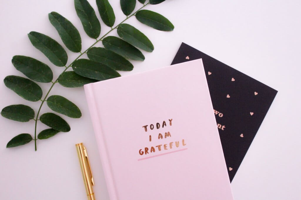 Gratitude journal for online therapy in New Jersey